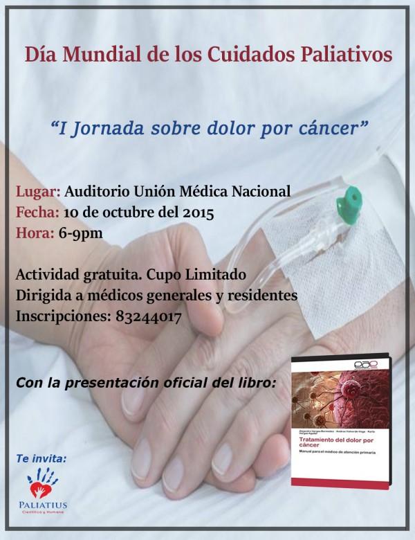 I Jornada sobre dolor por cáncer