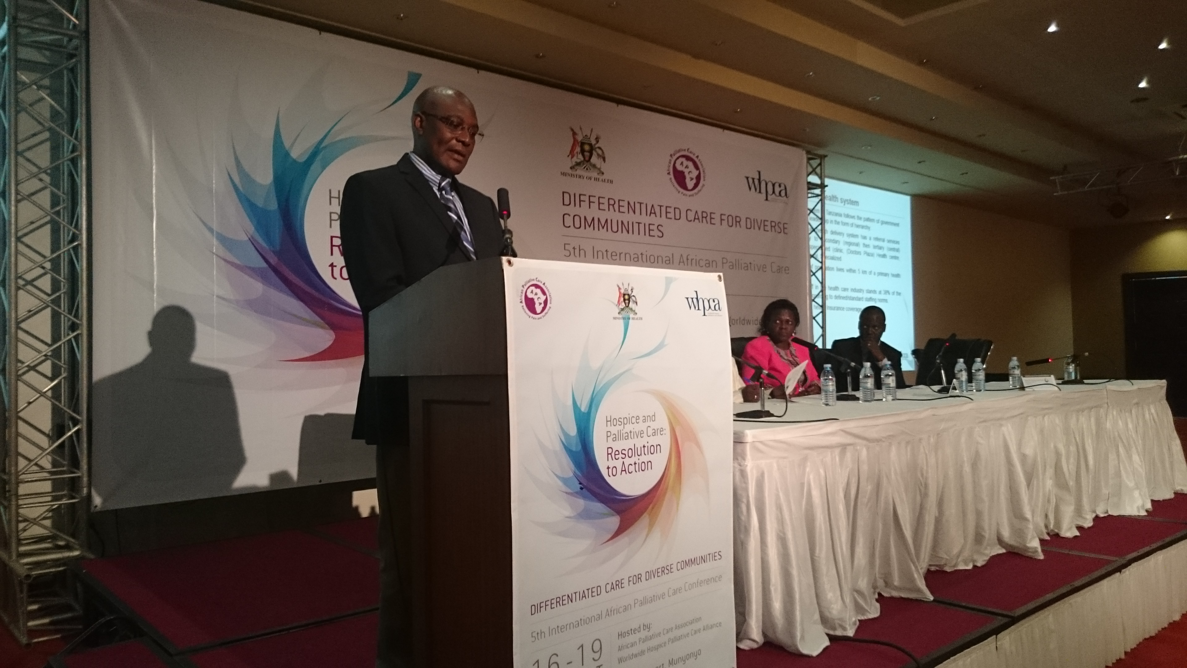 African Ministers of Health adopt Kampala Declaration on palliative care