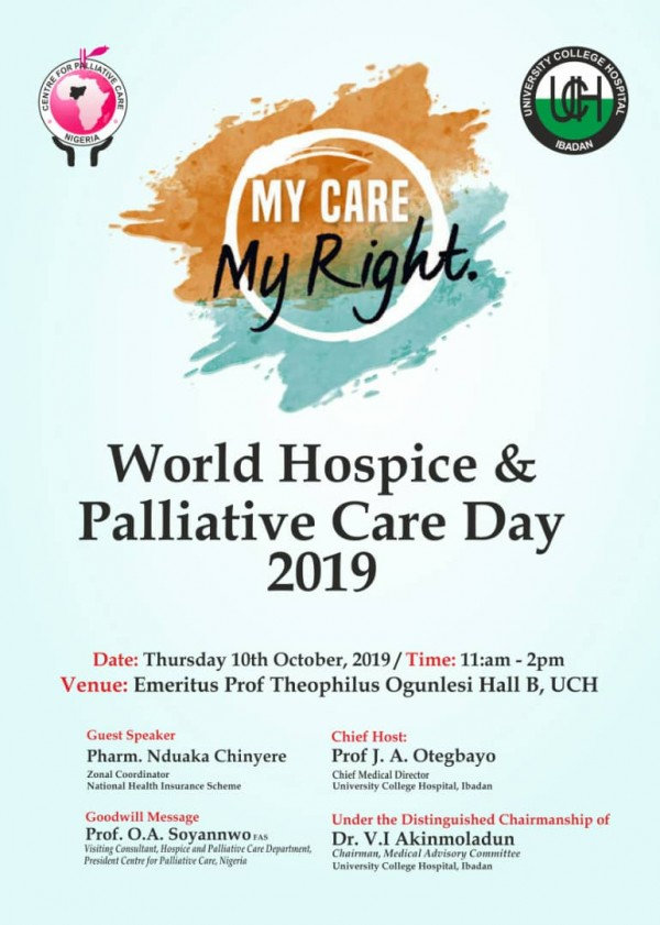 World Hospice and Palliative Care day 2019