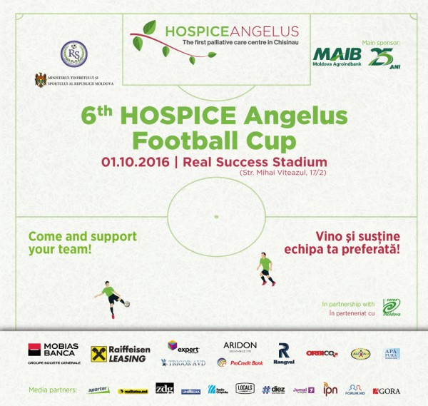 HOSPICE Angelus Football Cup 2016