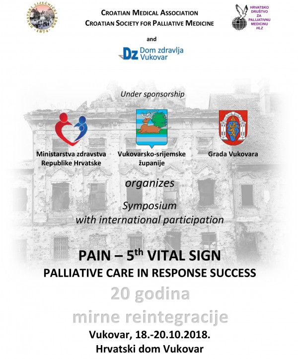 PAIN – 5th VITAL SIGN PALLIATIVE CARE IN RESPONSE SUCCESS