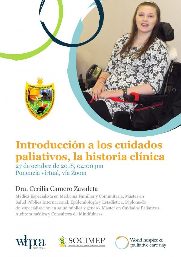 Introducción a los cuidados Paliativos, La historia Clínica