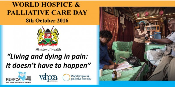 Support for CME (Continued Medical Education) on pain assessment and Management in 10 institutions across the Kenya 3rd to 8th October 2016