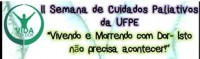 II Semana Cuidados Paliativos da UFPE (2nd week of palliative care)