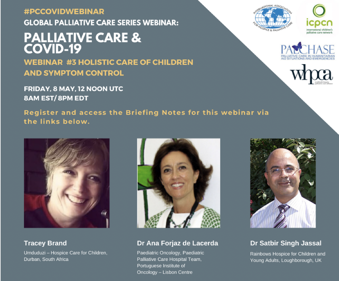Global Palliative Care Series webinar: Holistic care of Children and Symptom Control