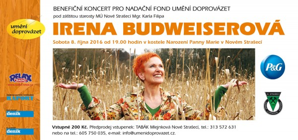 The benefit concert of Irena Budweiserova