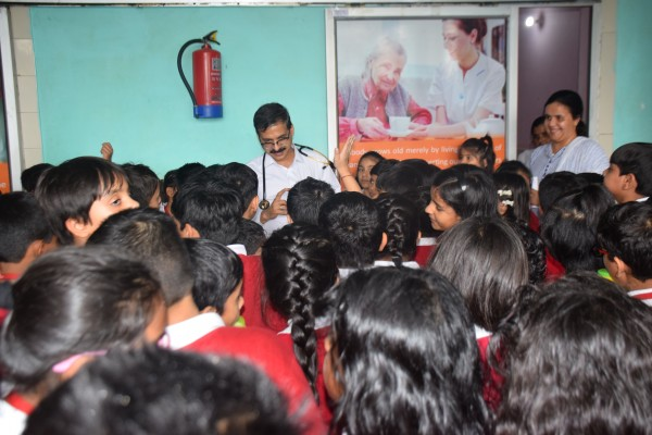 Hospice Day Celeberation & Awareness Generation Amongst School Children for the terminally ill.