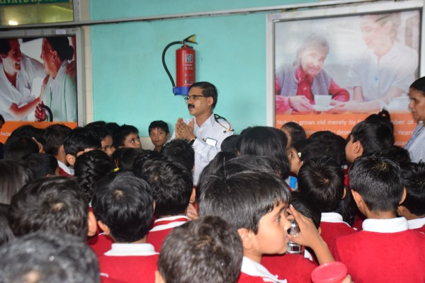 Hospice Day Celeberation & Awareness Generation amongst Children at Lucknow - India.