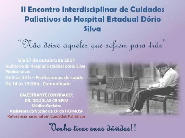 II Interdisciplinary Meeting of Palliative Care of the Dorio Silva State Hospital