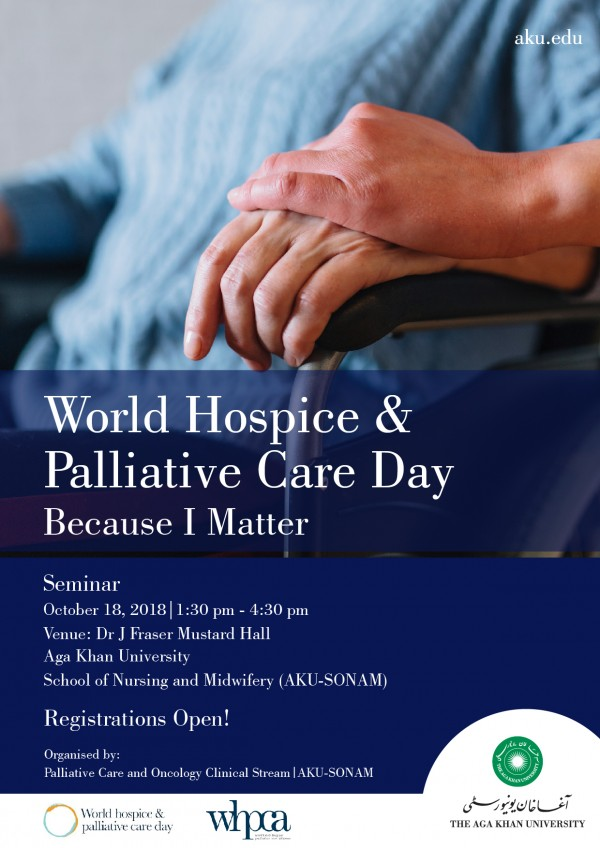 Seminar on World Hospice and Palliative Care Day 2018