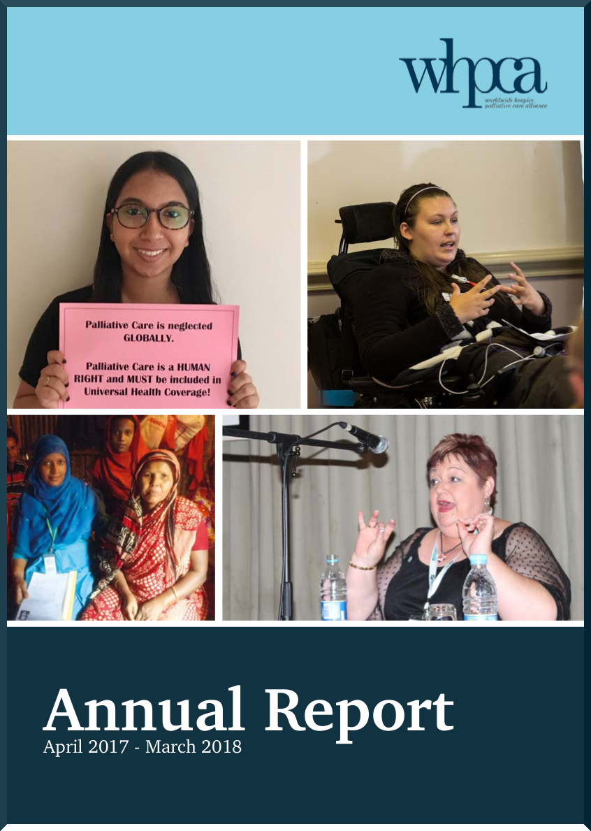WHPCA annual report 2017 2018 Cover